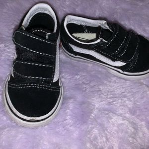 Black Toddler Vans